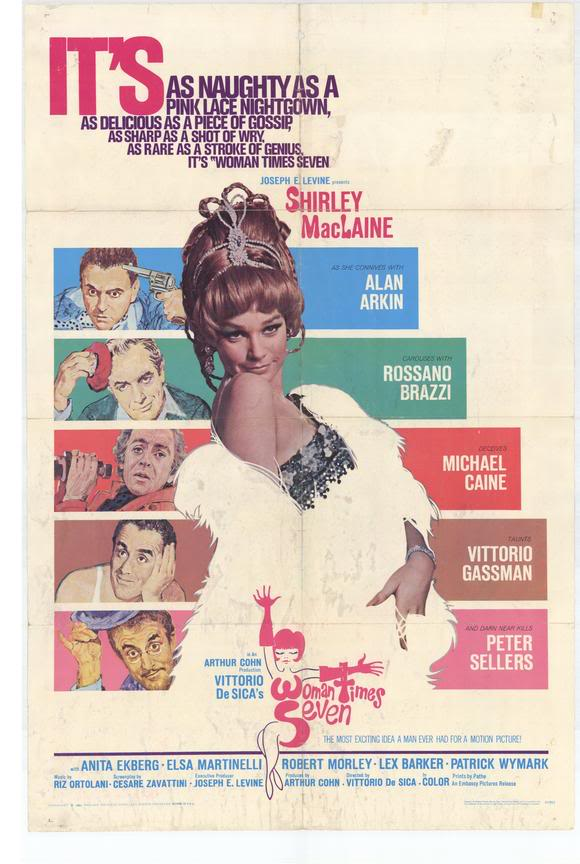 Must See Vintage Films: Woman Times Seven