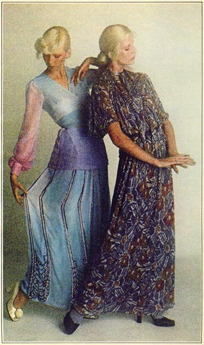 Left: Thea Porter, Right: Missoni