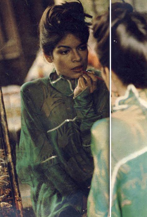 Dreamwear: Bianca Jagger in Zandra Rhodes