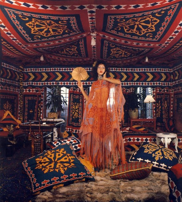Inspirational Images: Pat Cleveland in Zandra Rhodes