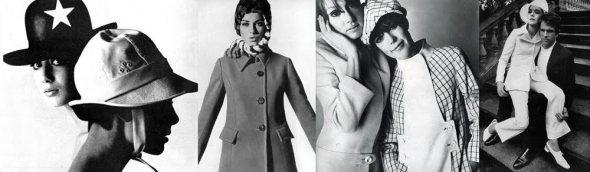 James Wedge hats in Vogue