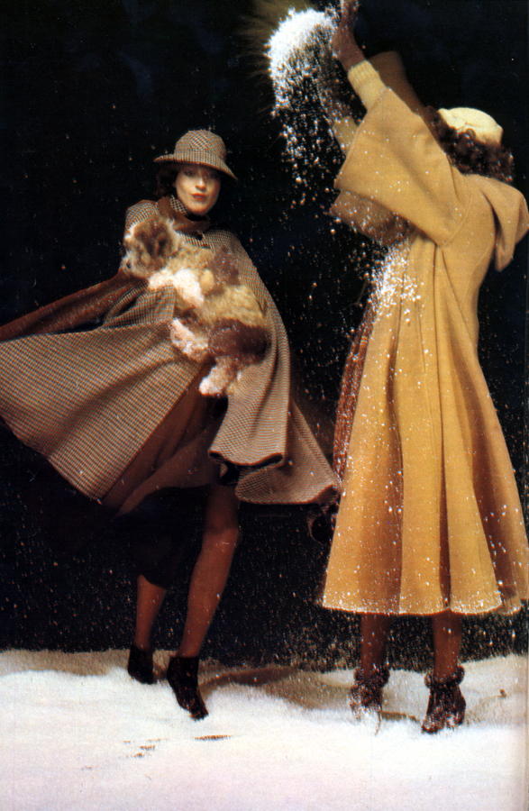Coat, skirt, hat and boots by Biba / Coat by Wallis, hat by Biba, boots by Chelsea Cobbler