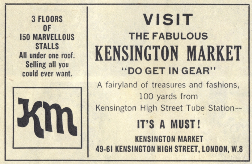 Scanned from the back of Petticoat, December 1971