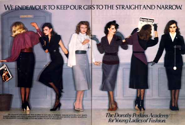 dorothy perkins advert october 79