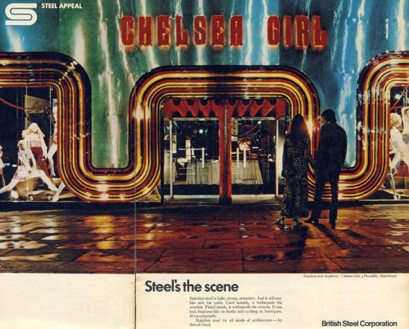 Steel's the Scene Chelsea Girl