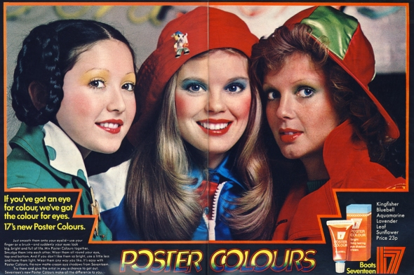 poster colours 19 magazine may 1972
