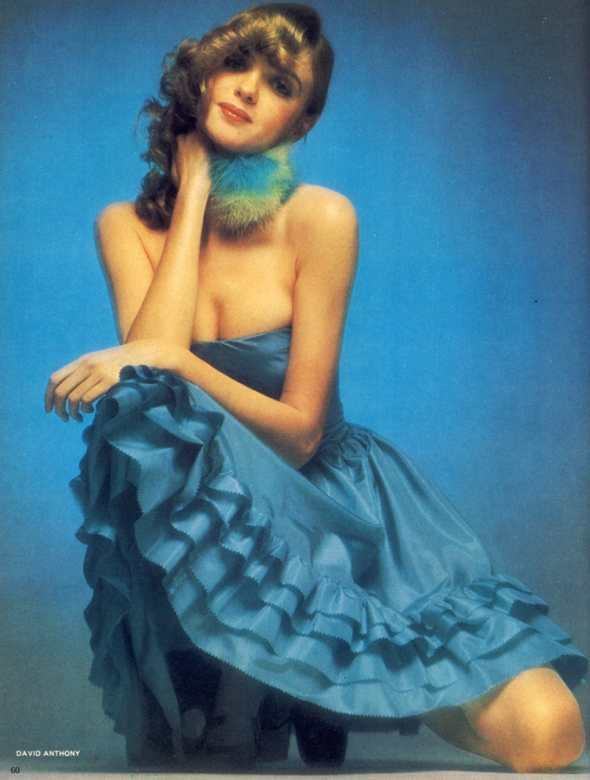 Strapless dress in pure paper silk taffeta should turn every head just with its rustle. By Bob Schulz, £45 from Patsy B Boutique, 6 Upper Grosvenor Street, W1. Lightly boned bodice so you don't rely entirely on willpower!