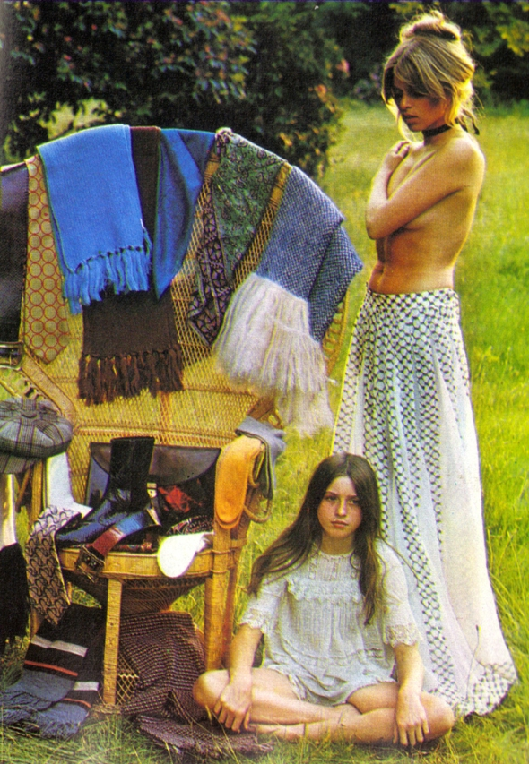 Men in Vogue Edina Ronay Autumn Winter 1970 1