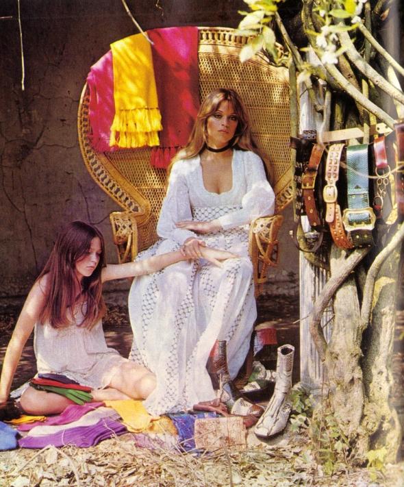 Men in Vogue Edina Ronay Autumn Winter 1970 d