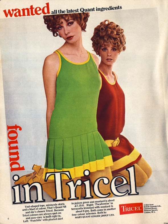 mary quant tricel nova april 68