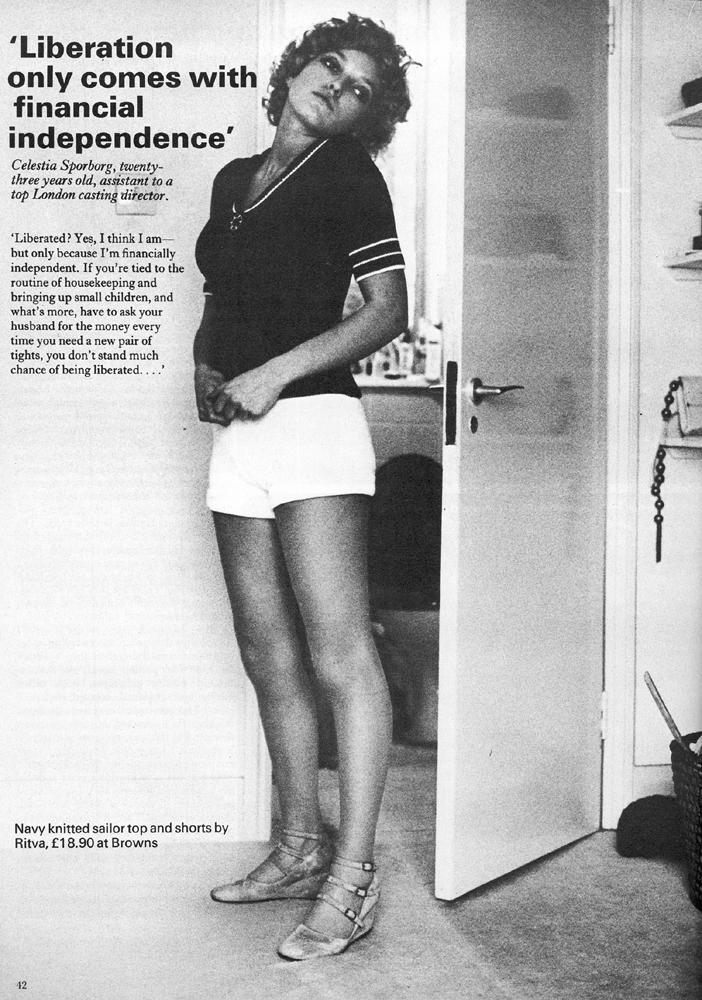 celestia sporborg by frank horvat vanity fair 1971 1