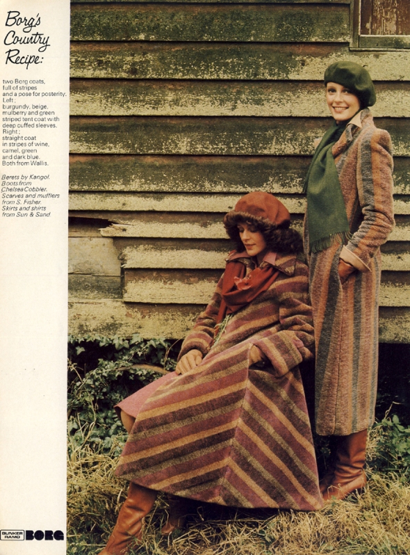 Both coats by Wallis