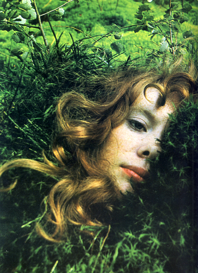 herbs that care for your skin harpers bazaar dinah april 1970