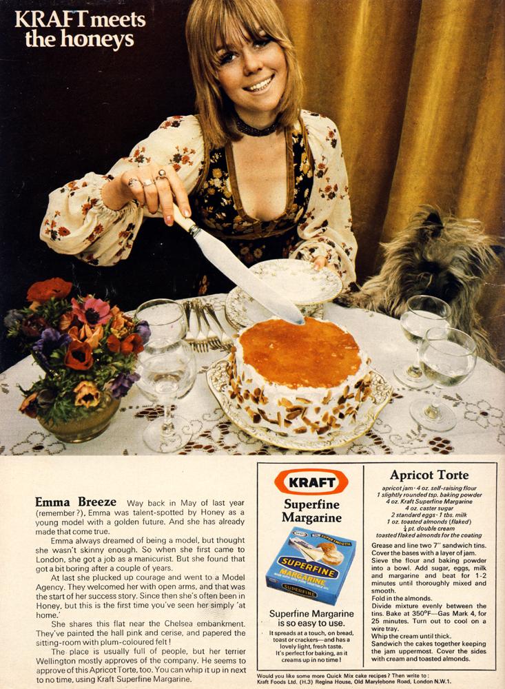 thea gypsy - kraft - honey October 1970