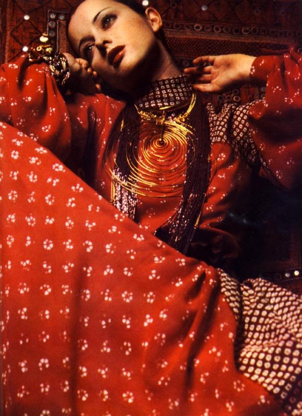 Sarah Moon - Dior - Votre Beaute - Photo June 1970