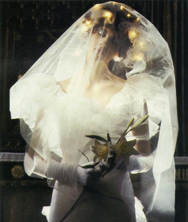 Dress by David Fielden.