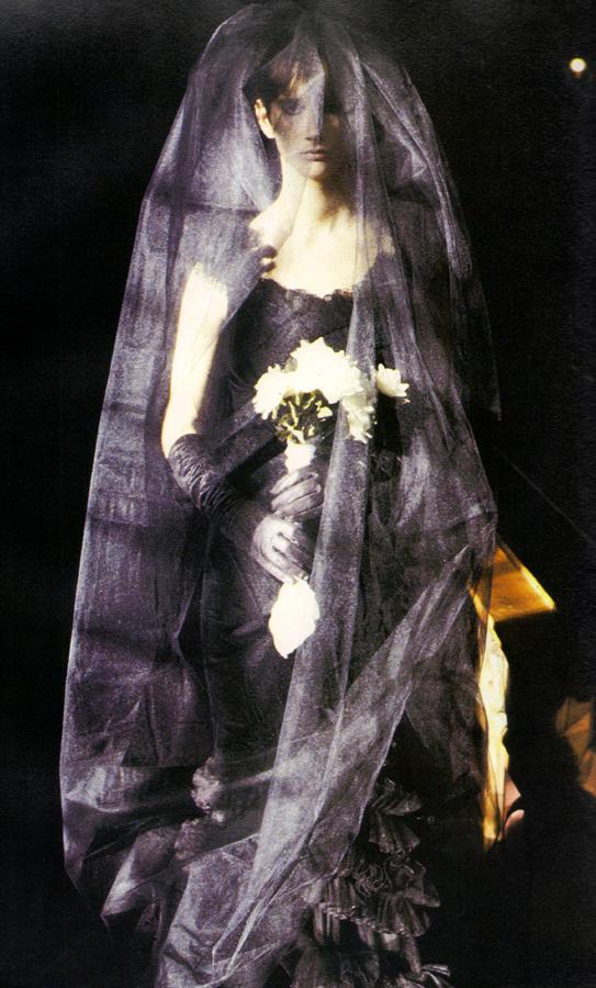Dress by David Fielden