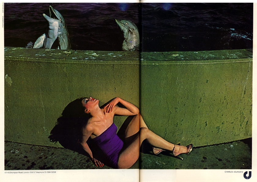 guy bourdin jourdan harpers queen march 76