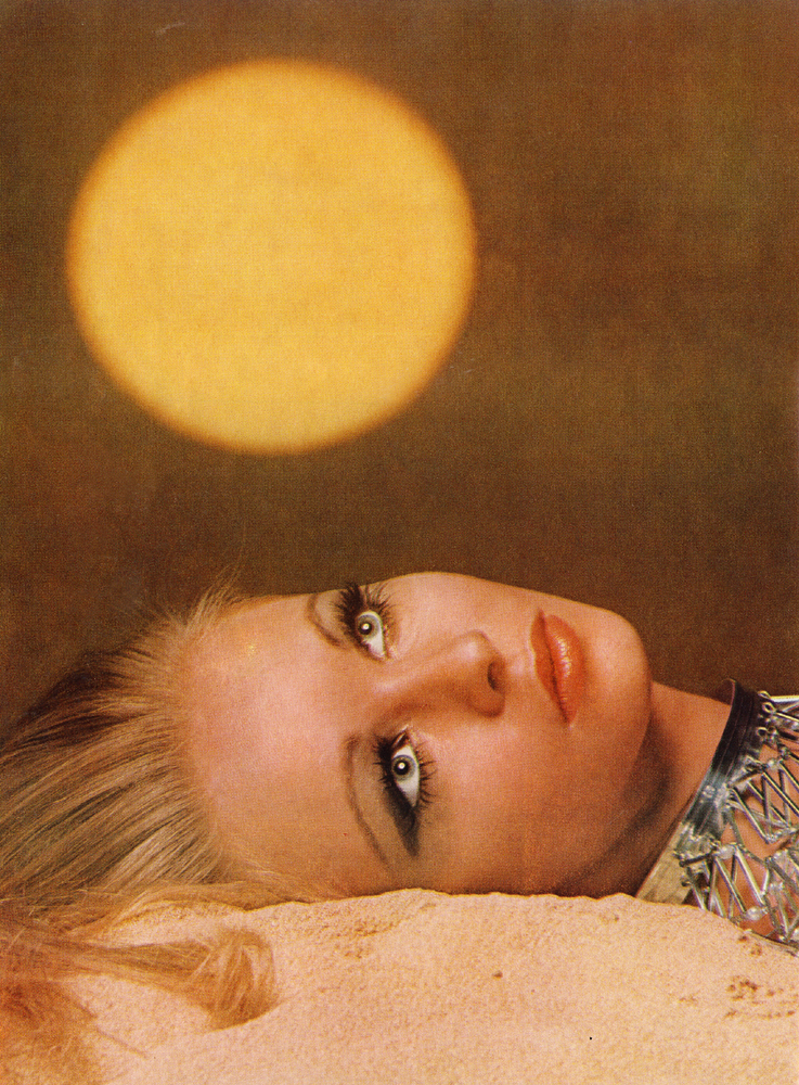 Bare Bronze by Bourdin Vogue May 1969