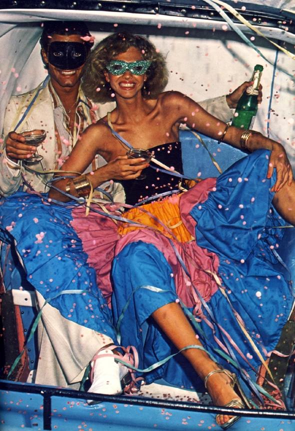 Samba dress by Quorum. Sandals by Sacha.