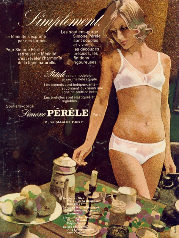 Simone Perele Mademoiselle Age Tendre