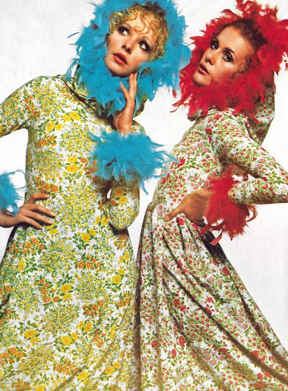 Spring Flowers in Every Shade - Bailey - Vogue - March 69
