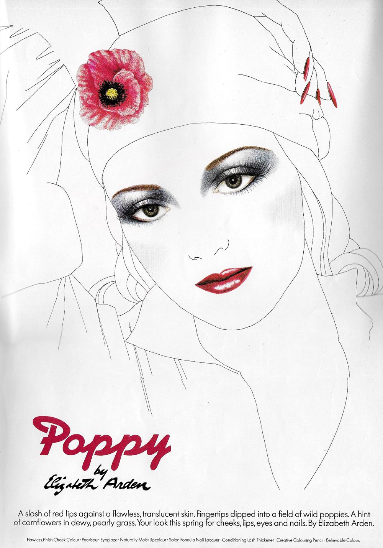 poppy by elizabeth arden