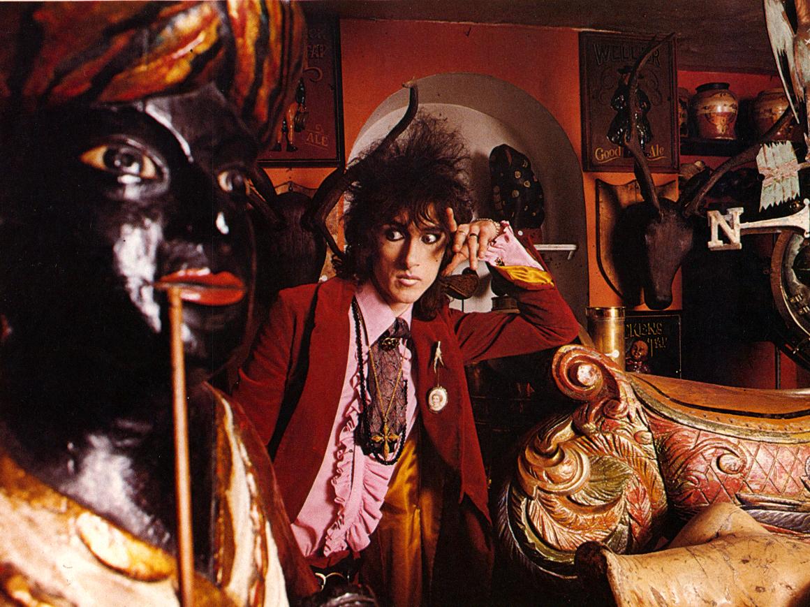 John Cooper Clarke by Sheila Rock