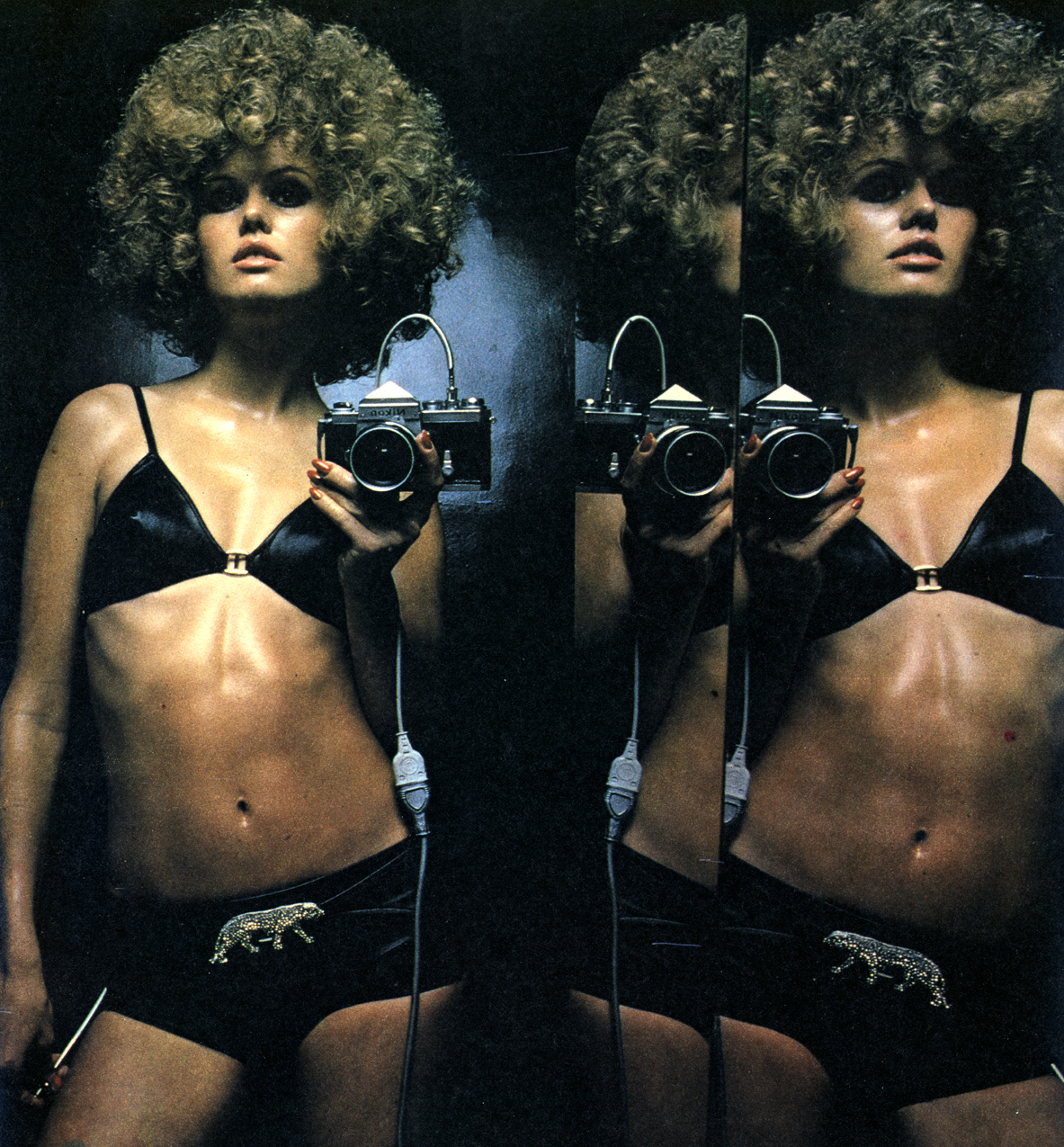 Mirror Mirror - Helmut Newton - Observer April 69 - 2
