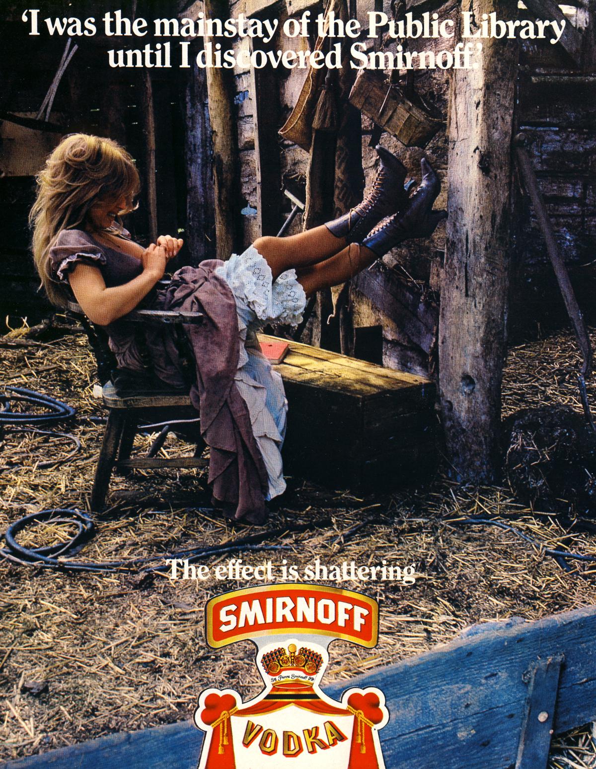 smirnoff - 19 magazine - oct 72