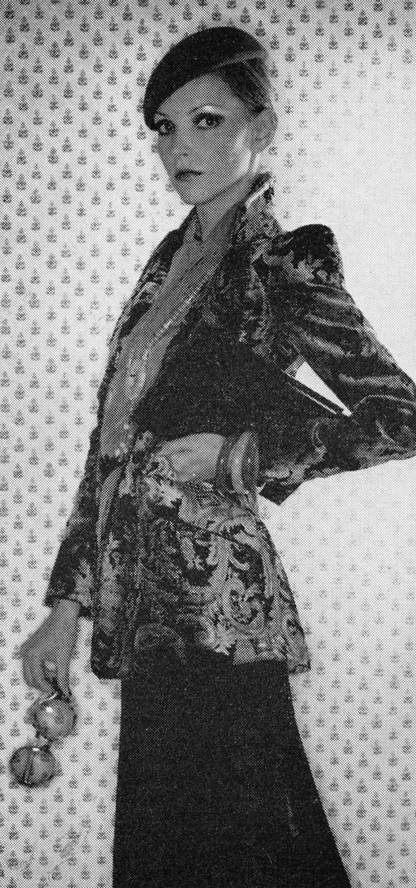 The Velvet Touch - Terence Donovan - Harpers November 1974 c