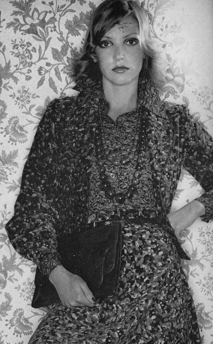The Velvet Touch - Terence Donovan - Harpers November 1974 d